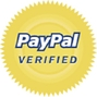Verified by paypal.